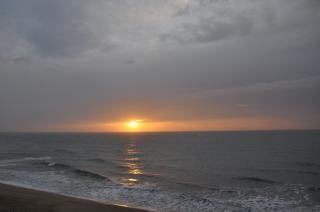 Pôr do sol búlgaro Foto gratuita