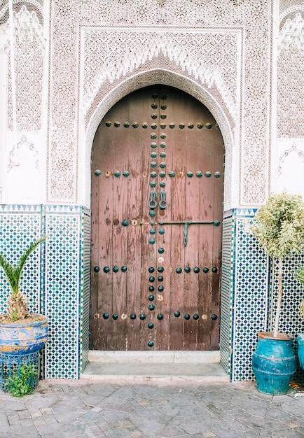 Porta oriental Foto gratuita