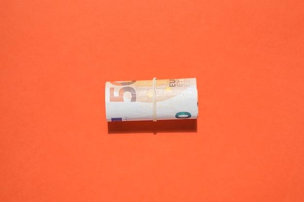 Postura plana do conceito de economia Foto gratuita