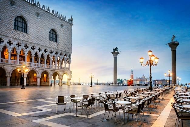 Praça de são marcos veneza Foto Premium