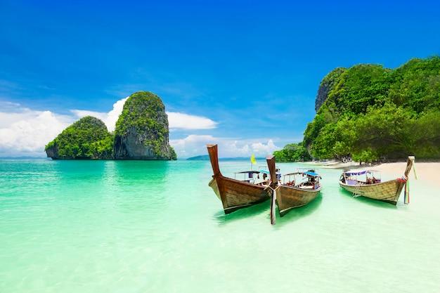 Praia da beleza Foto Premium