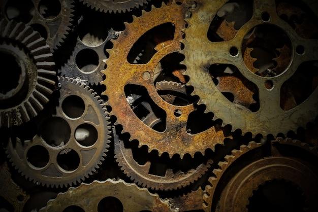 Precisão fábrica partes de ferro trabalho em equipe Foto gratuita