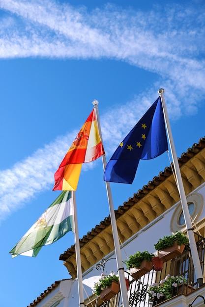 Prefeitura de marbella, na cidade velha Foto Premium