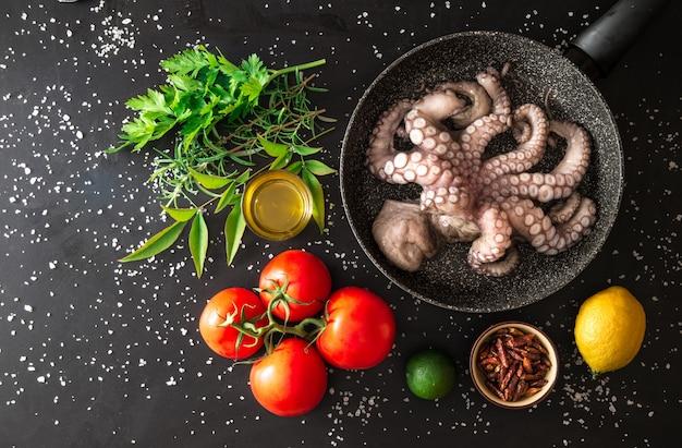 Preparaçãoa peixe grelhado Foto Premium