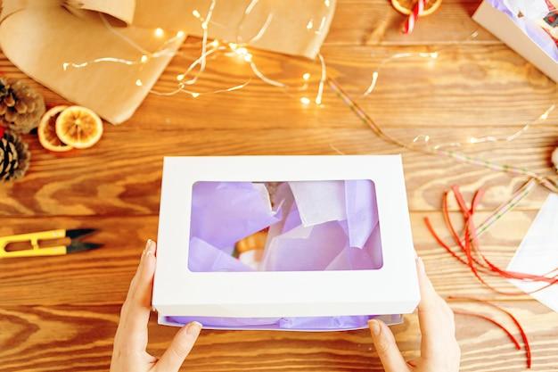 Presente de natal. Foto Premium