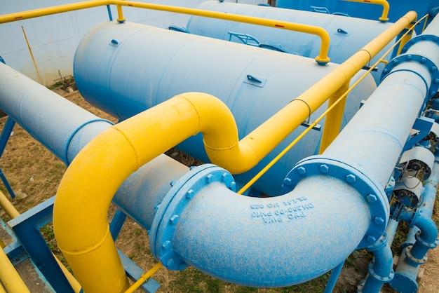 Processo de tratamento de água Foto Premium
