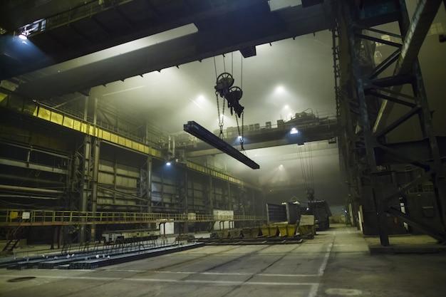 Produção de aço em fornos elétricos Foto Premium