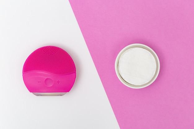 Produtos de cuidados com a pele. Foto Premium