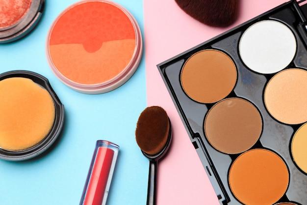 Produtos de maquiagem Foto Premium
