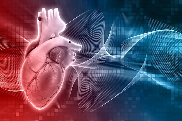Projeto do coração humano Foto gratuita