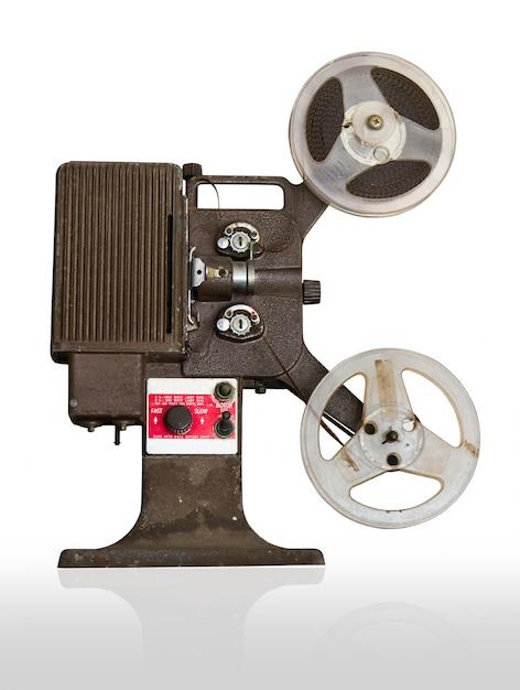 Projetor de filme analógico com bobinas Foto Premium