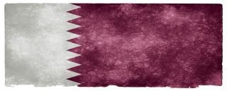 Qatar grunge bandeira Foto gratuita