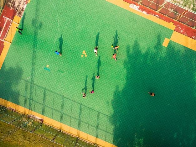 Quadra de futsal Foto Premium