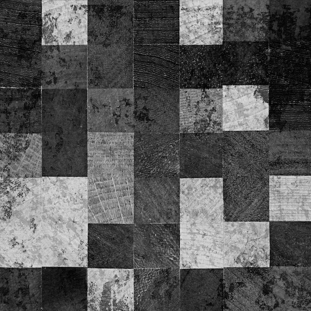 Quadrados de madeira escura Foto gratuita