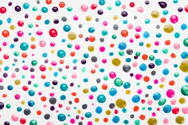 Quadro completo de gota de esmalte colorido Foto gratuita