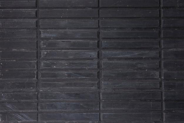Quadro completo de listras de madeira pretas Foto gratuita