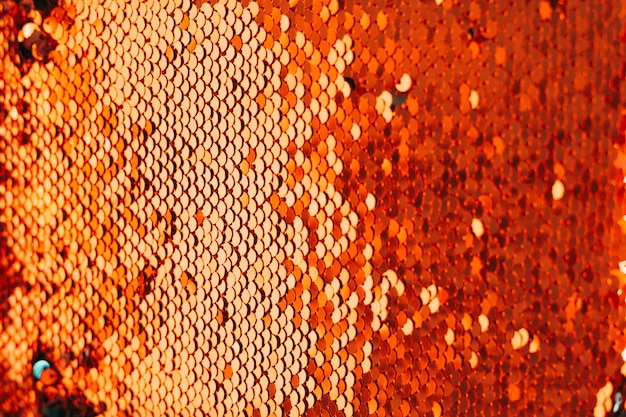 Quadro completo de tecido brilhante decorativo de lantejoulas Foto gratuita