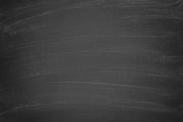 Quadro de giz preto como pano de fundo para o texto. textura de quadro-negro Foto Premium