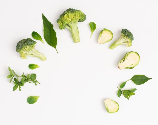 Quadro de legumes gostoso com espaço de cópia Foto gratuita