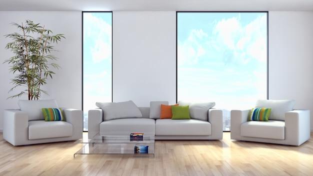 Quarto interior moderno Foto Premium