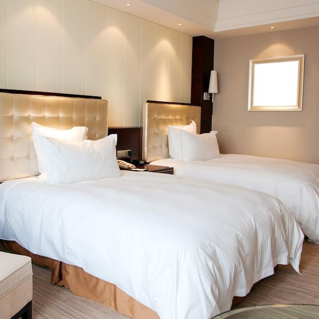 Quartos de hotel Foto Premium