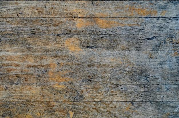 Rachou a textura de placa de madeira pintada azul resistida Foto Premium
