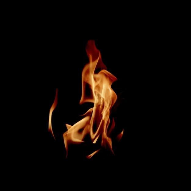 Raging chama de fogo Foto Premium