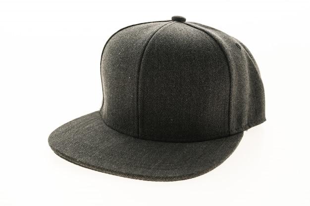Red cap roupas de proteção fundo Foto gratuita