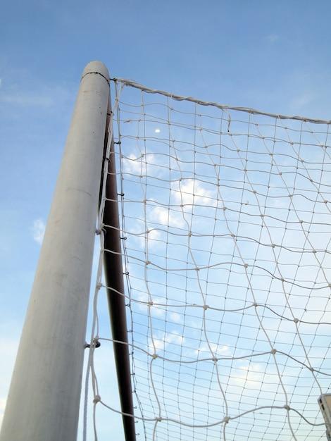 Redes de futebol Foto Premium