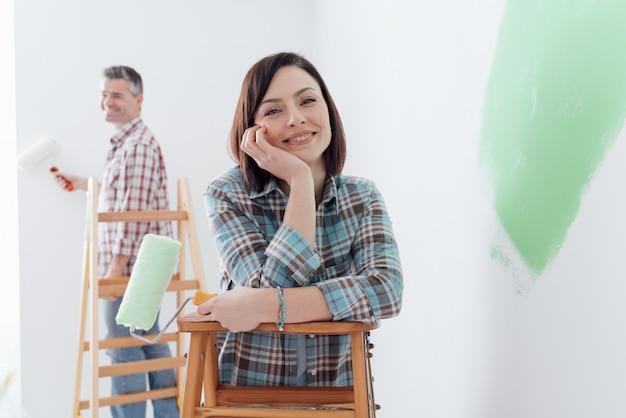 Reforma e decoração de casas Foto Premium