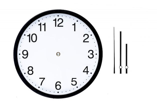 Relógio sem mãos Foto gratuita