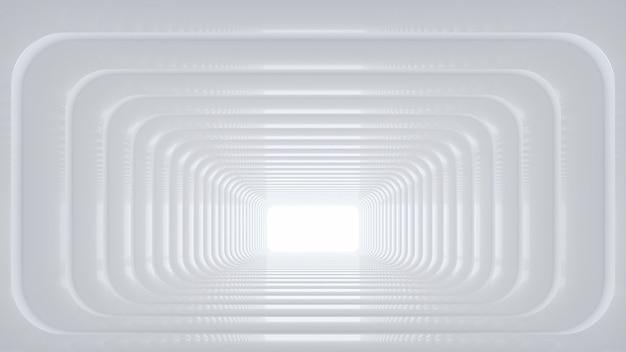 Renderização 3d do suporte de produto em branco Foto Premium