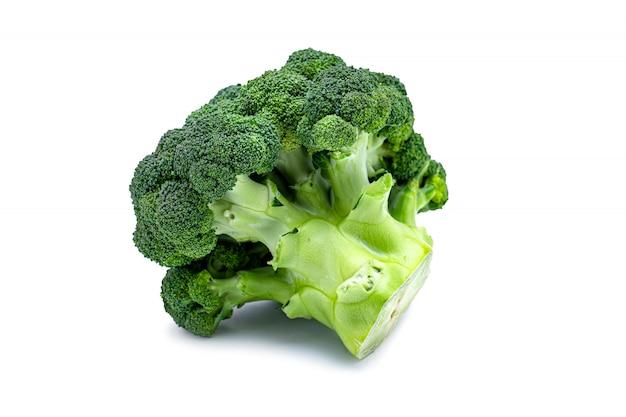 Repolho verde isolado de brócolis Foto Premium