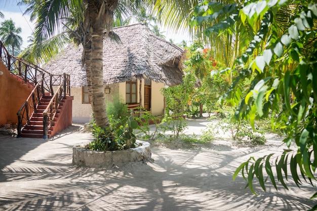 Resort tradicional tropical Foto Premium