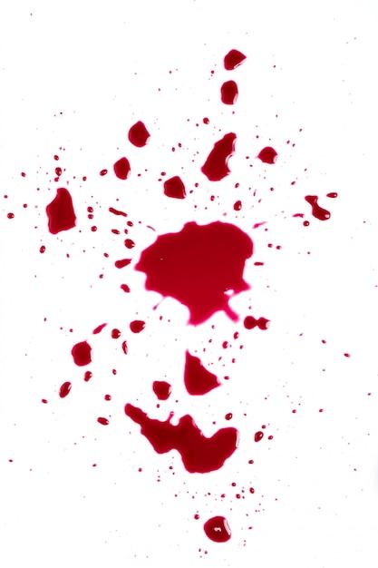 Respingo de sangue Foto gratuita