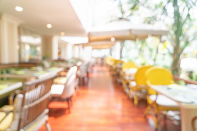 Resumo blur café restaurante Foto Premium