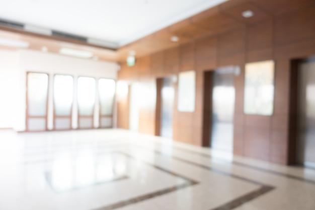 Resumo blur hotel e lobby interior Foto gratuita