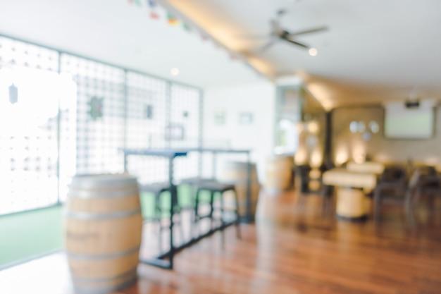 Resumo blur lobby do hotel e interior de restaurante do hotel para o fundo Foto gratuita