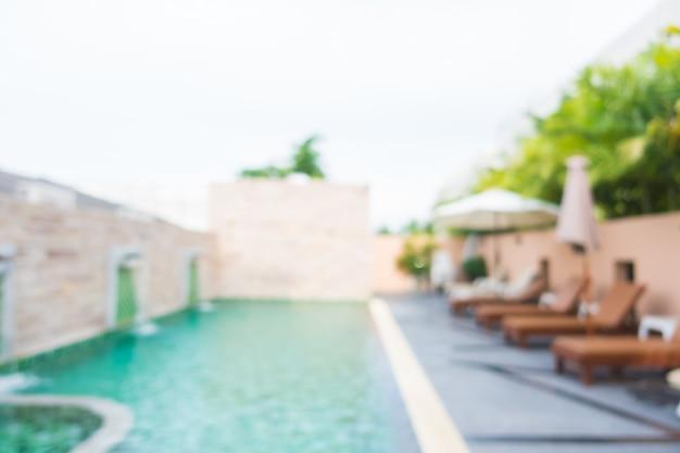 Resumo blur piscina Foto gratuita