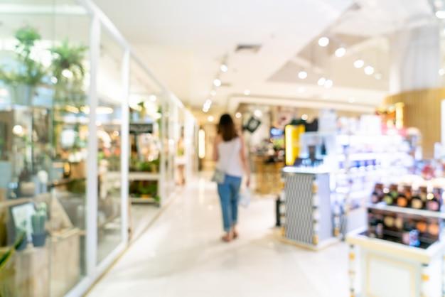 Resumo blur shopping Foto Premium