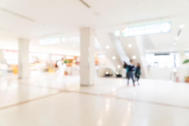 Resumo borrão interior do aeroporto Foto gratuita