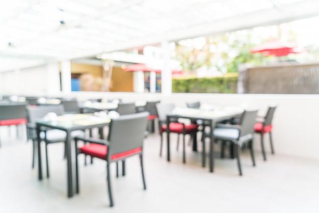 Resumo borrão restaurante Foto gratuita