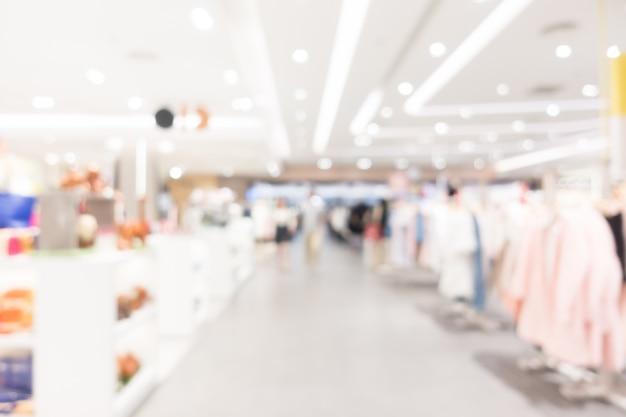 Resumo borrão shopping Foto gratuita