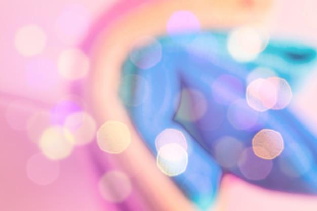 Resumo colorido turva. unicórnio Foto Premium