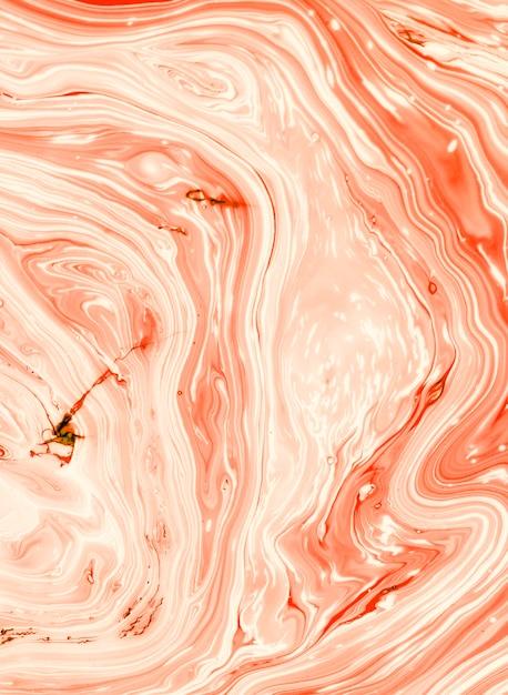 Resumo de casca de árvore de salmão em óleo Foto gratuita