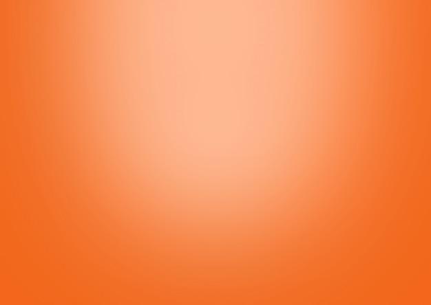 Resumo de fundo gradiente laranja. Foto Premium