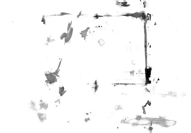 Resumo de manchas de tinta mão ilustrações desenhadas. Foto Premium