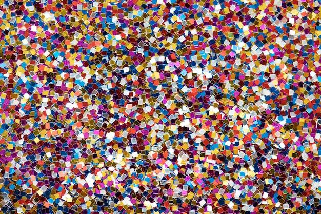 Resumo de plano de fundo texturizado glitter colorido Foto gratuita