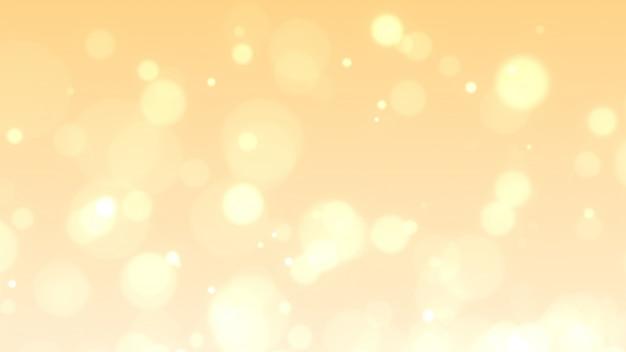 Resumo dourado brilhos ou luzes de brilho. fundo Foto Premium