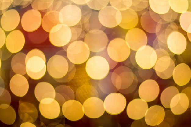 Resumo Light Bokeh Background Foto gratuita